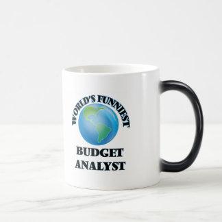 World's Funniest Budget Analyst Mug