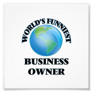 World's Funniest Business Owner Photo