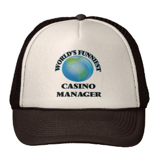 World's Funniest Casino Manager Mesh Hat
