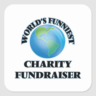 World's Funniest Charity Fundraiser Square Sticker