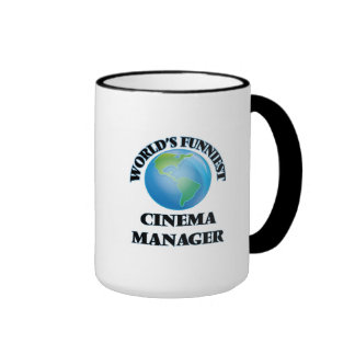 World's Funniest Cinema Manager Coffee Mugs