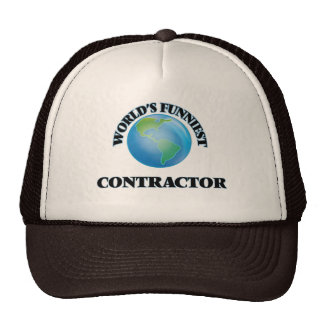 World's Funniest Contractor Hat