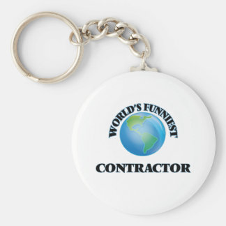 World's Funniest Contractor Key Chains