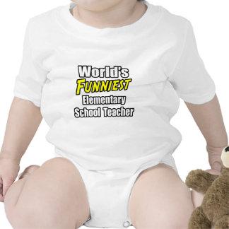 World's Funniest Elementary School Teacher T Shirt