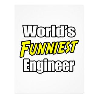 World's Funniest Engineer Custom Flyer