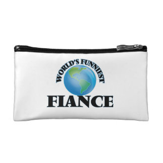 World's Funniest Fiance Cosmetics Bags