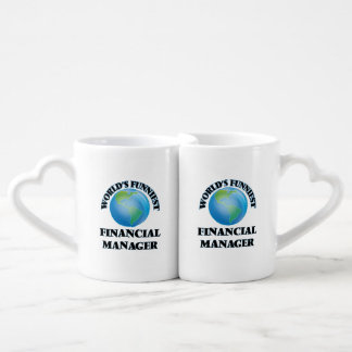 World's Funniest Financial Manager Lovers Mug Sets