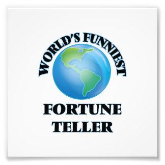 World's Funniest Fortune Teller Photograph