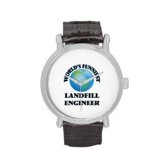 World's Funniest Landfill Engineer Wrist Watch