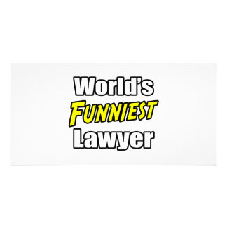 World's Funniest Lawyer Photo Cards
