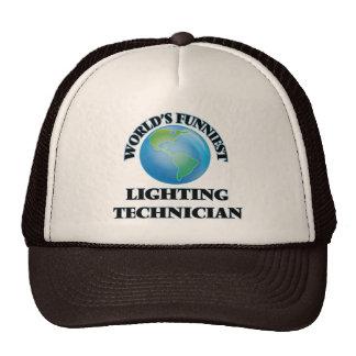 World's Funniest Lighting Technician Hats