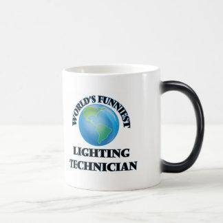 World's Funniest Lighting Technician Coffee Mug
