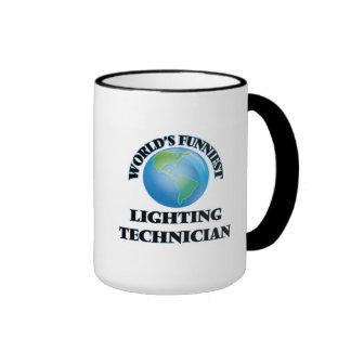 World's Funniest Lighting Technician Coffee Mugs