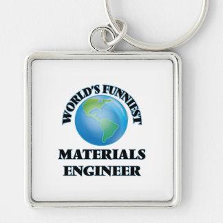 World's Funniest Materials Engineer Key Chain