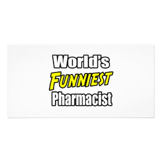 World's Funniest Pharmacist Picture Card