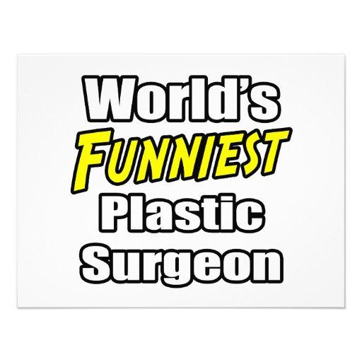 World's Funniest Plastic Surgeon Invitation