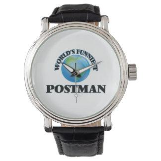 World's Funniest Postman Wrist Watch