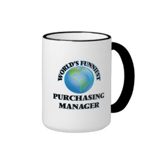 World's Funniest Purchasing Manager Coffee Mugs