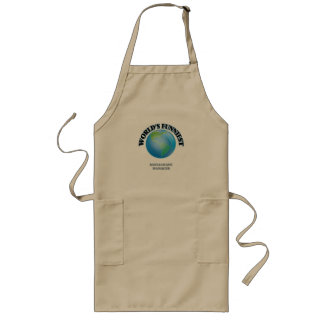 World's Funniest Restaurant Manager Long Apron