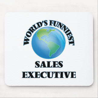 World's Funniest Sales Executive Mousepad