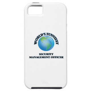 World's Funniest Security Management Officer iPhone 5 Case