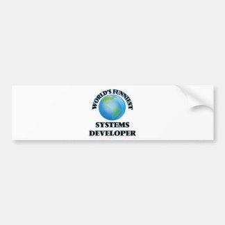 World's Funniest Systems Developer Bumper Sticker