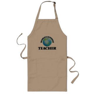 World's Funniest Teacher Apron