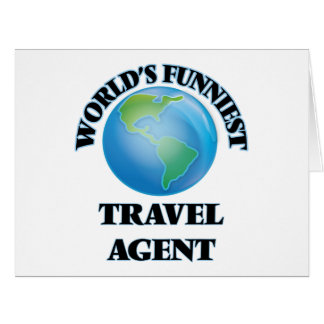World's Funniest Travel Agent Card