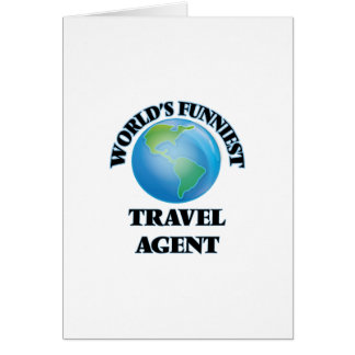 World's Funniest Travel Agent Cards