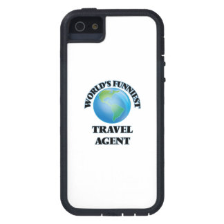 World's Funniest Travel Agent iPhone 5 Case