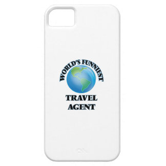 World's Funniest Travel Agent Barely There iPhone 5 Case