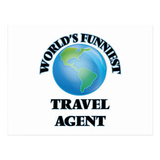 World's Funniest Travel Agent Postcard