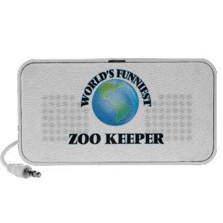 World's Funniest Zoo Keeper PC Speakers
