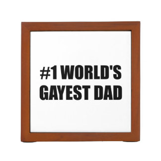 Worlds Gayest Dad Desk Organiser