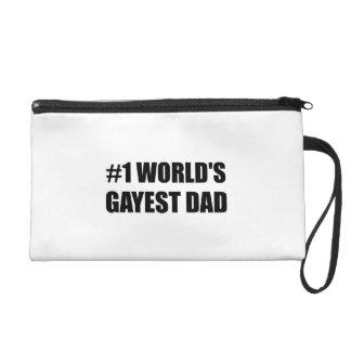 Worlds Gayest Dad Wristlet
