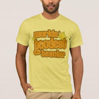 worlds' goodest teacher (distressed) T-Shirt
