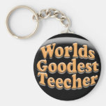 Worlds Goodest Teecher Funny Teacher Gift