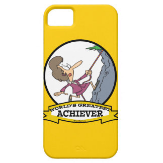 WORLDS GREATEST ACHIEVER WOMEN CARTOON iPhone 5 COVERS
