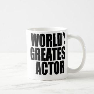 World's Greatest  Actor Basic White Mug