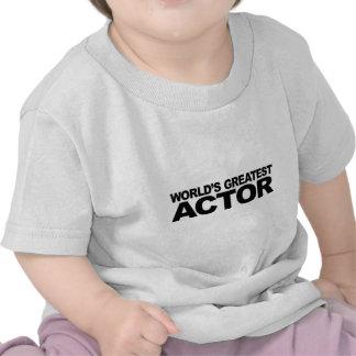 World's Greatest Actor T Shirt