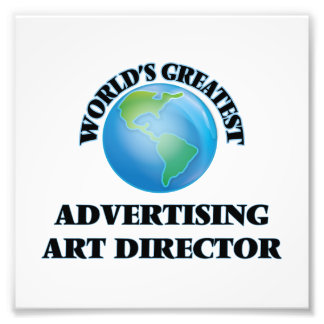 World's Greatest Advertising Art Director Photograph
