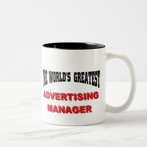 World's Greatest Advertising Manager Mug