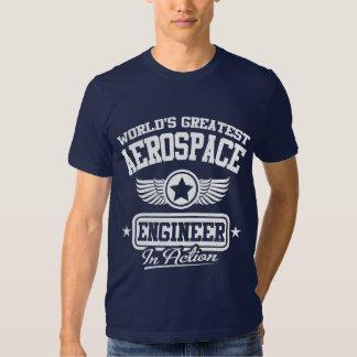 World's Greatest Aerospace Engineer T-shirts