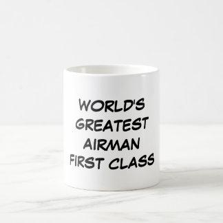 """World's Greatest Airman First Class"" Mug"