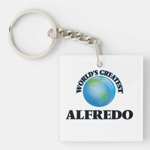 World's Greatest Alfredo Square Acrylic Keychains