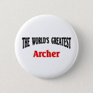 World's Greatest Archer 6 Cm Round Badge