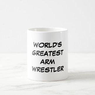 """World's Greatest Arm Wrestler"" Mug"