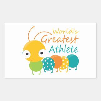 World's Greatest Athlete Stickers