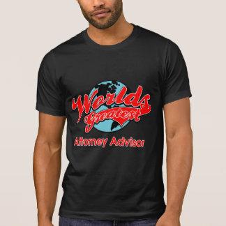 World's Greatest Attorney Advisor T Shirt