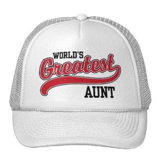 World's Greatest Aunt Cap